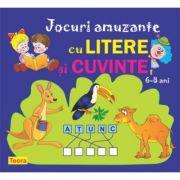 Jocuri amuzante cu litere si cuvinte - Diana Rotaru