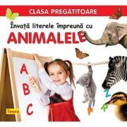Invata literele impreuna cu animalele - Diana Rotaru