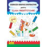 Exercitii grafice distractive pentru clasa pregatitoare - Diana Rotaru