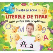 Invata si scrie literele de tipar - Diana Rotaru