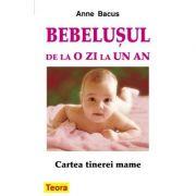 Bebelusul de la o zi la un an. Cartea tinerei mame - Anne Bacus