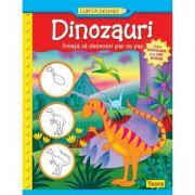 Dinozauri. Cum sa desenez