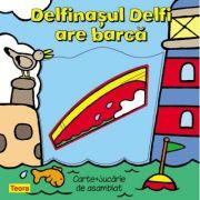 Delfinasul Delfi are barca + jucarie