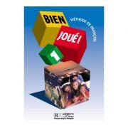 Manual pentru Limba Franceza, clasa a V-a. Bien Joue 1 - Carla Gislon