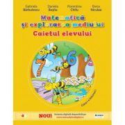 Matematică și explorarea mediului - caietul elevului pentru clasa I, partea I ( contine ed. digitala)