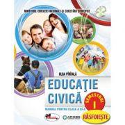 Educatie civica -Manual pentru clasa a -III-a, partea I si partea a -II-a (contine editie digitala)