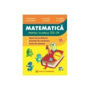 Culegere de Matematica pentru clasele III-IV - T. Stefanica