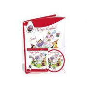 Magic English - pachet manual + CD
