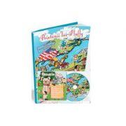 Prietenii lui Fluffy-pachet educational pentru invatarea limbii engleze revista + CD + Joc Domino