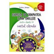 Exercitii de gramatica limbii engleze. Caiet pentru clasele I-IV - Cristina Johnson