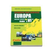 Manual Geografia Continentelor-Europa clasa a VI-a ( Octavian Mandrut )