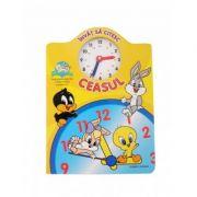 Invat sa citesc ceasul cu Baby Looney Tunes