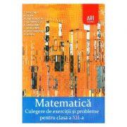 Matematica- Culegere de exercitii si probleme pentru clasa XII