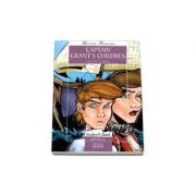 Captain Grant's Children by Jules Verne - readers pack with CD level 4 - Intermediate