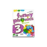 Funny Phonics Activity Book with Students CD-Rom by H. Q. Mitchell -level 3