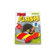 Time Flash - Workbook with CD-Rom and Stickers by H. Q. Mitchell - level B