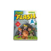 Time Flash Workbook with CD-Rom and Stickers by H. Q. Mitchell - level A