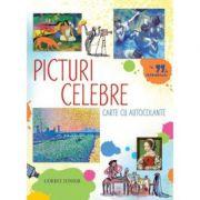 Picturi celebre. Enciclopedie cu autocolante - Megan Cullis