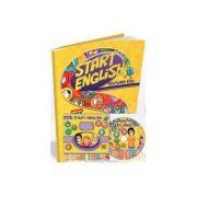 Start English - pachet pentru clasa pregatitoare si clasa I - revista + CD + joc