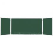 Tabla scolara triptica verde 2000x1200x4000mm ( metalo-ceramica ) TSTVP400