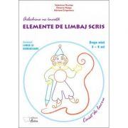 Arlechino ne invata elemente de limbaj scris - caiet de lucru (3-4 ani)