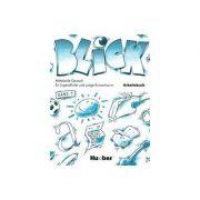 Limba germana, Caiet pentru clasa a VIII-a. Blick 1, Band Arbeitsbuch
