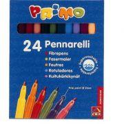 Markere pt. copii Morocolor, 24 culori/cutie (MC15517)