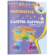 CAIETUL ELEVULUI CLASA a IV-a MATEMATICA (sem. I + sem. II)