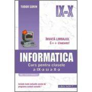 Informatica - curs pentru clasele a IX-a si a X-a (profilul real-intensiv)