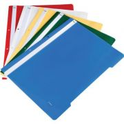 Dosar, bleumarin, cu sina si 2 perforatii, A4, plastic (DW000004)