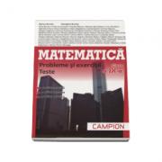 Culegere pentru Matematica clasa a IX-a, probleme si exercitii, teste - Profilul, servicii, resurse, tehnici (TC de tip M-Tehnologic) Marius Burtea -