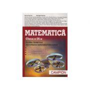 Culegere de Matematica pentru clasa a IX-a. FILIERA TEORETICA, sp. Matematica Info(TC+ CD de tip M- mate-info) Marius Burtea