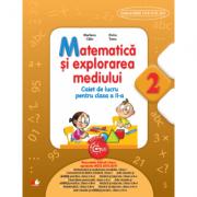 Caiet de lucru - Matematica si explorarea mediului pentru clasa a II-a