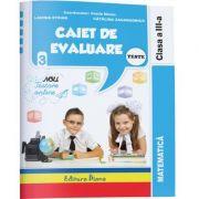 Matematica - Caiet de evaluare - teste clasa a III a