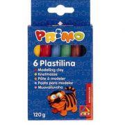 Plastilina Morocolor, 120g, 6 culori/cutie (MC15566)