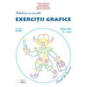 Arlechino ne invata exercitii grafice – caiet de lucru pentru 5-6 ani
