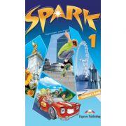 SPARK 1, Student's Book, Curs de limba engleza pentru clasa V-a - Virginia Evans