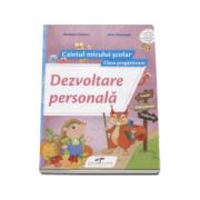 Dezvoltare personala caietul micului scolar pentru clasa pregatitoare