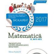 Bacalaureat 2017. Matematica M_MATE-INFO. 60 de teste rezolvate dupa modelul M. E. N. C. S. contine ( breviar teoretic ) - Ed. Paralela 45
