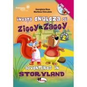 Invata engleza cu Ziggy&Zaggy - Adventures in Storyland, volumul 2 (contine DVD)