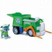 PAW PATROL Rocky - Figurina si camion (6022627)