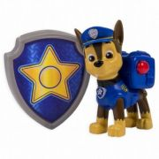 PAW PATROL, Chase Politist - Figurina si insigna - (6022626)