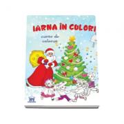 Iarna in culori. Carte de colorat