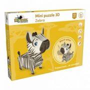 Zebra. Mini Puzzle 3D