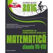 Matematica - Olimpiade si concursuri scolare pentru clasele VII-VIII
