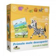 Animale in habitat - Puzzle Primele mele descoperiri (NOR1535_001)