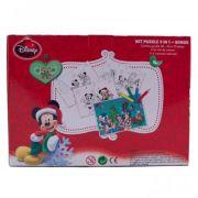 Mickey de Craciun - Puzzle 3 in 1 + BONUS (MY-XP04)
