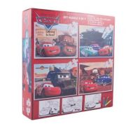 Cars - Puzzle 4 in 1 + BONUS (CS-XP08)