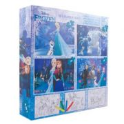 Frozen - Puzzle 4 in 1 + BONUS (FZ-XP08)