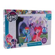 My Little Pony - Puzzle 100 piese + 3 foi A4 de colorat si 4 creioane colorate (MP-XP01)